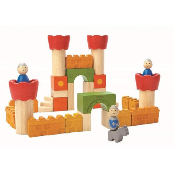 Contenido de PlanToys 5651 Castillo de Bloques