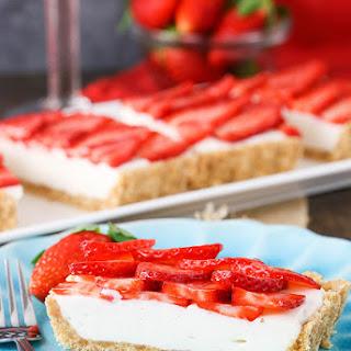 Strawberry Champagne Tart