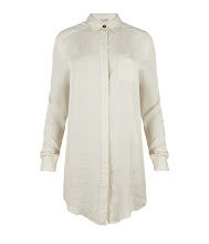 Photo: Solstice Shirt>>  UK>http://bit.ly/QFQGJn US>http://bit.ly/R4Kvmy  The Solstice Shirt in ivory is inspired by a vintage oversized men's shirt. This versatile style has been re-developed in soft Japanese fabric for a feminine feel to a classic gents piece.