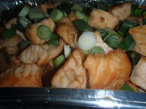 Photo: Blanquette de saumon au Noilly-Prat