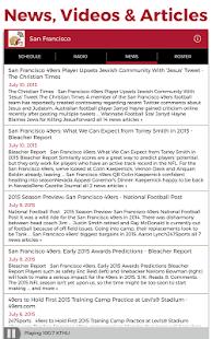 San Francisco Football Radio- screenshot thumbnail