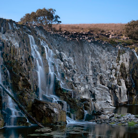 Hopkins Falls by Amanda Wilson - Landscapes Mountains & Hills ( great ocean road, waterfalls, australia, outback, victoria, paradise )