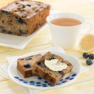 Blueberry Lemon Banana Bread