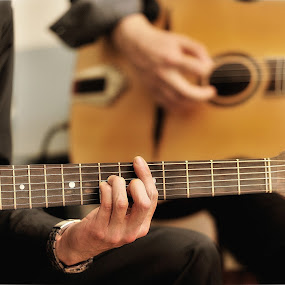 In D-minor... by Zvonimir Cuvalo - People Musicians & Entertainers ( music, player, d-mol, guitar, musician, d-minor )