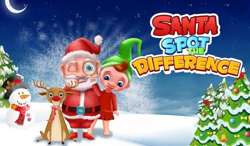 Santa Spot The Differences