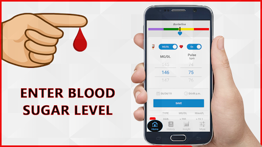 Blood Sugar Check Diary : Glucose Test Log History screenshot 2