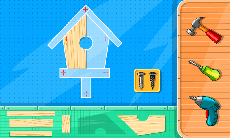 Builder Game- screenshot