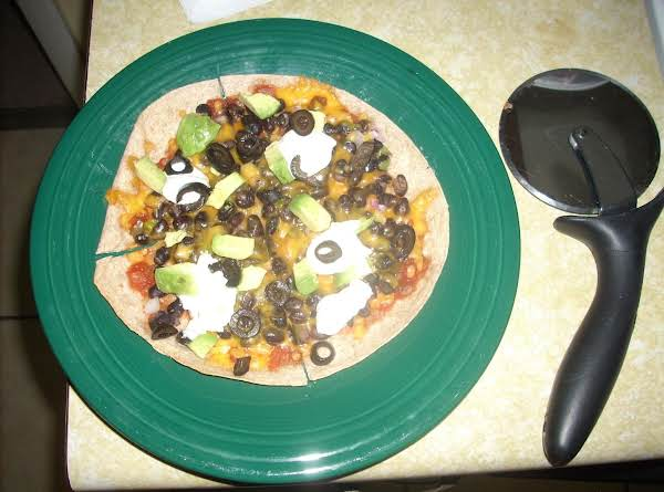 Quick Mexican Pizza Recipe
