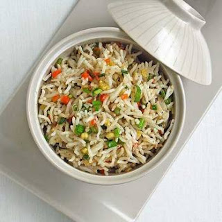 Easy Vegetable Fried Rice.