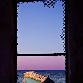 Port window by Abdulmagid alfrgany Photograph - Landscapes Caves & Formations ( art )