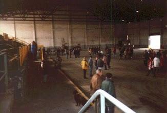 Photo: Der letzte große Tag der Eishalle - vor dem Abbruch