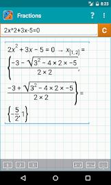 Fraction Calculator MathlabPRO Screenshot 3