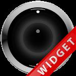 Poweramp Widget Black Robot Icon