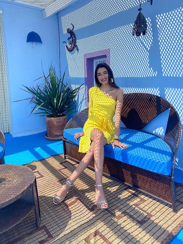 La Miss Word Almería 2020 en la casa de Paco Wandosell, ubicada en el Parque Natural Cabo de Gata-Níjar.