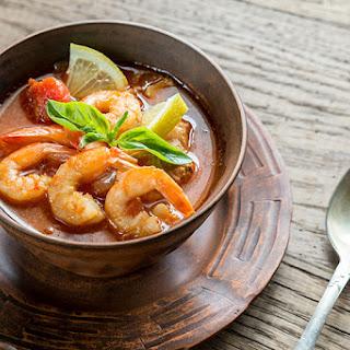 The 10-Day Tummy Tox Jerk Shrimp Stew.