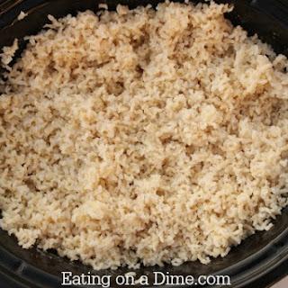 Crock Pot Rice Recipe