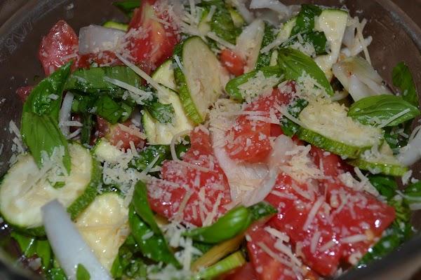 Before serving, sprinkle Parmesan over top.