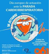 Poster día europeo reanimación cardiopulmonar