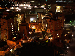 Photo: Stata Center; Not mine - originally from http://en.wikipedia.org/wiki/File:MIT-Building32-from-54-at-night.jpg, by user Gremio, licensed under CC-BY-SA 2.5