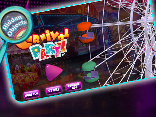 Hidden Object: Carnival Party
