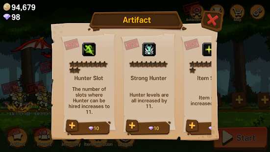 Hunter Rush - Premium Screenshot
