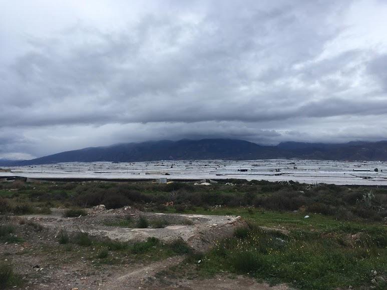 Vista de la sierra de Gádor desde Cortijos de Marín. / Foto: Raúl Ramos