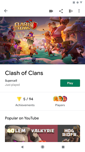 Google Play Games screenshot 3