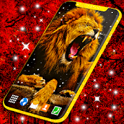 Gold King Lion Safari 🦁 Live Wallpaper HD Themes