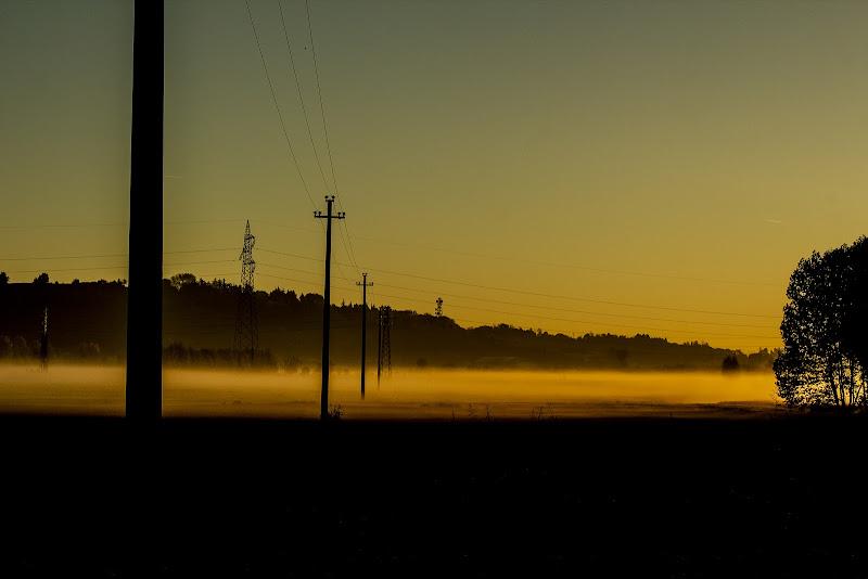 Nebbia del mattino di Bibanto