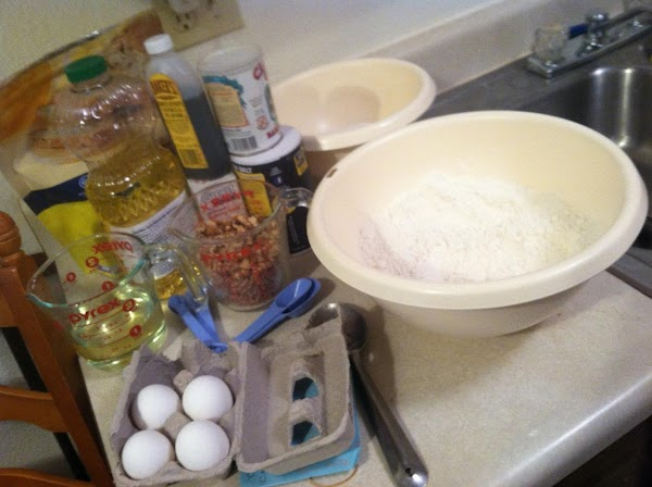 Preheat oven to 375 degrees.Gather ingredients,and spray pans with olive oil and sprinkle bottoms...