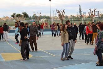 Photo: Biodanzando en el patio del Colegio Antonio de Nebrija en Cabezo de Torres