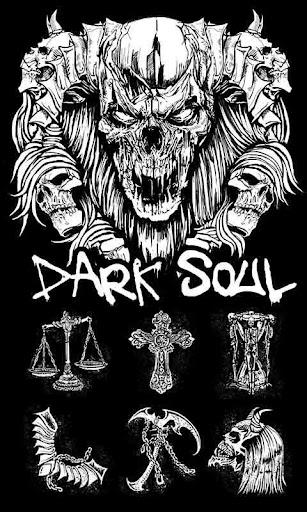 Dark soul GO Launcher Theme