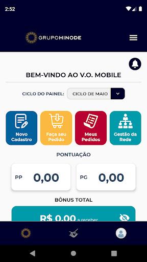 v.o. mobile screenshot 1