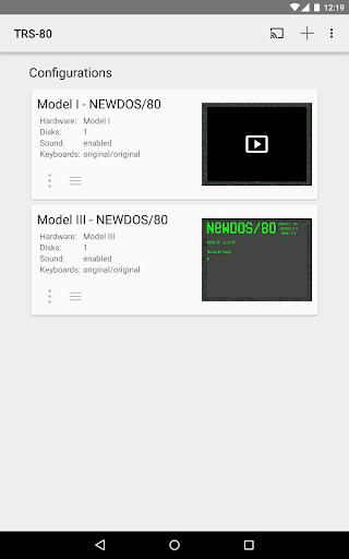 TRS-80 Emulator  captures d'écran 1