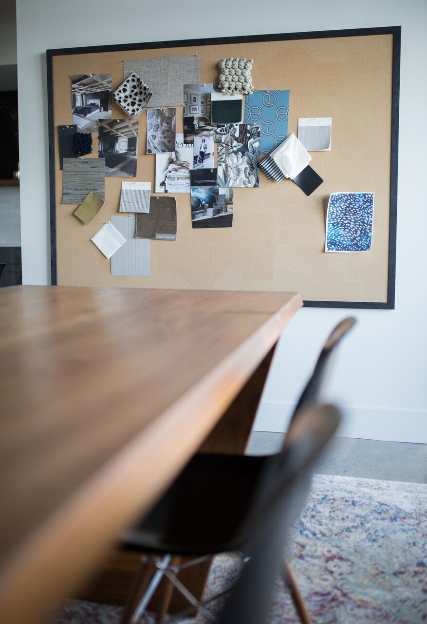 Calgary design community and office space launched by Leanne Bunnell Interiors - conference room