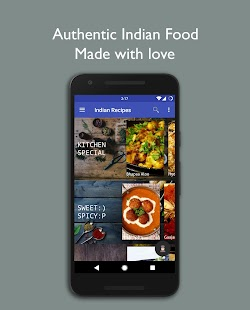 Indian recipes cooking kitchen book android apps on google play indian recipes cooking kitchen book screenshot thumbnail forumfinder Images
