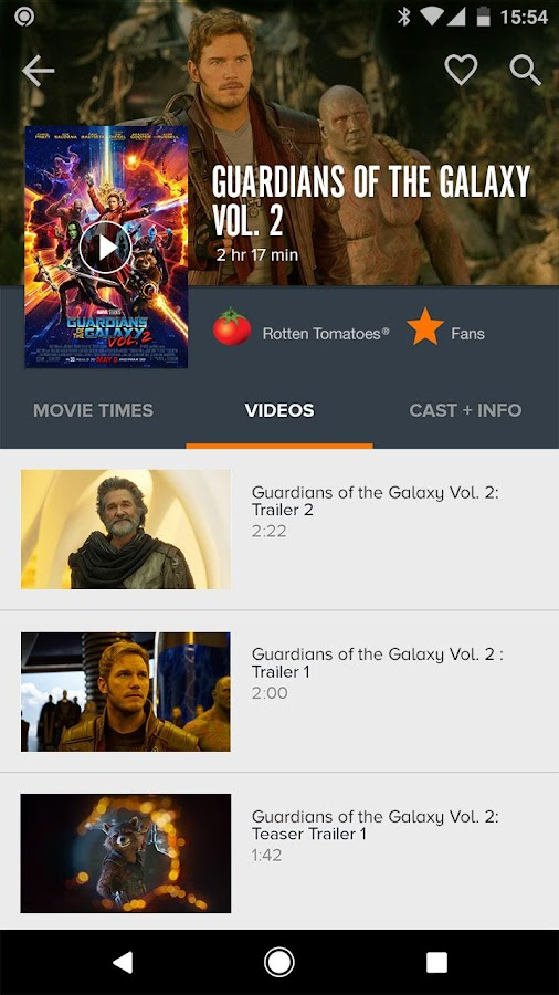 Fandango Movies- screenshot