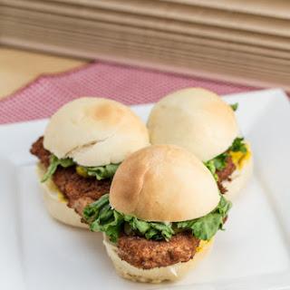 Pork Tenderloin Sandwich.