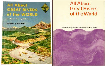 Photo: All About Great Rivers Of The World.  Anne Terry White (author), Random House, 1957.