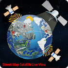 Street Map Satellite Live View icon