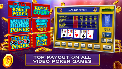 Video Poker High Limit 1.3.1 {cheat|hack|gameplay|apk mod|resources generator} 2
