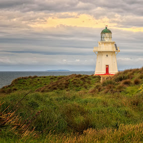 Lighthouse in New Zealand by Cora Lea - Landscapes Travel (  )