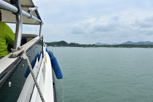 Travel from Phuket to Koh Yao Noi by speed boat