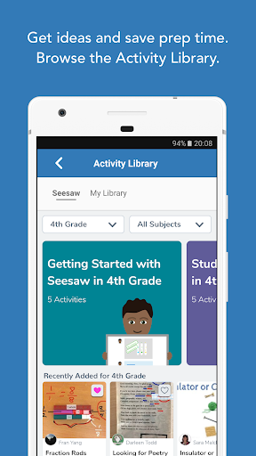 Screenshot for Seesaw: The Learning Journal in Hong Kong Play Store