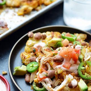 One-Pan Cauliflower Nachos