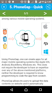 Learn PhoneGap- screenshot thumbnail
