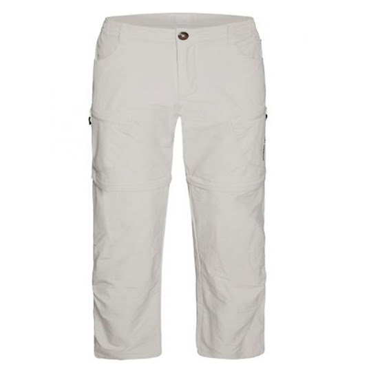 Weather Report Zip-off Pants Stretch Man Khaki Stl: 3XL