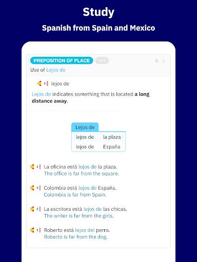 Learn Spanish - Español screenshot 11