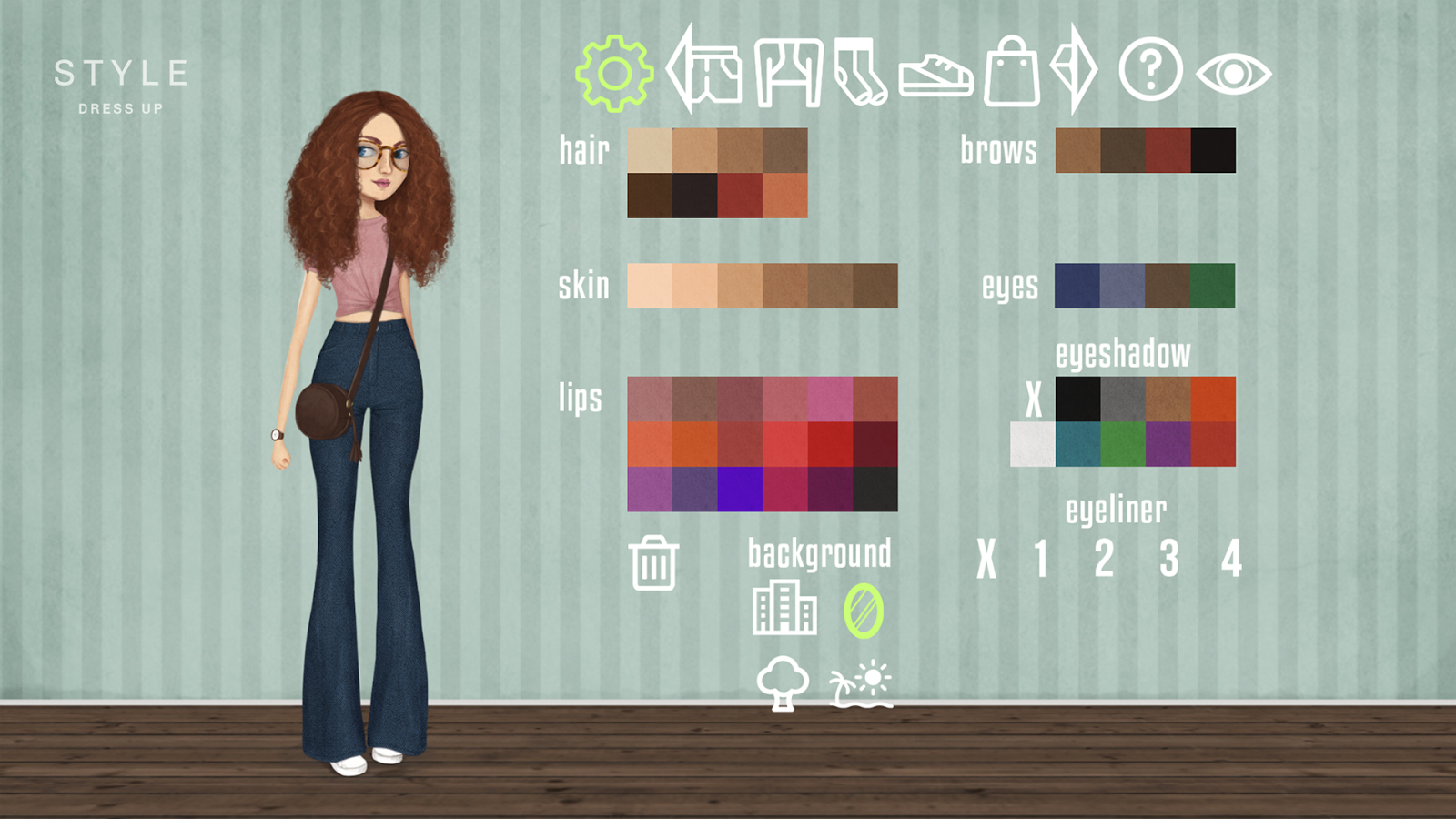 Different style dress up games
