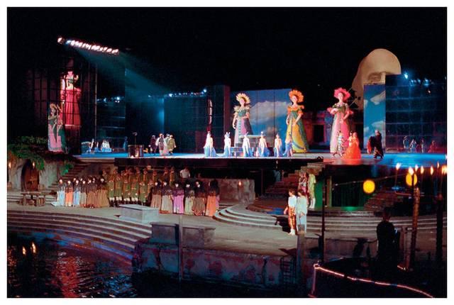 嘆為觀止的湖上歌劇院 Bregenz Festival